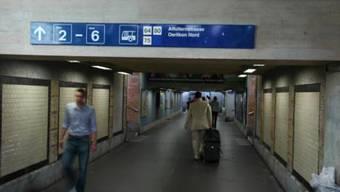 Sschmuddelig: Die Bahnhofsunterführung, wie sie sich heute präsentiert.