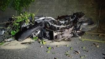 Schwer verletzter Töfffahrer nach Frontalkollision