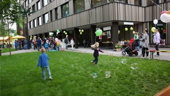 Kinder hatten besonders viele Möglichkeiten, sich am St. Josef-Fest zu amüsieren.KOB