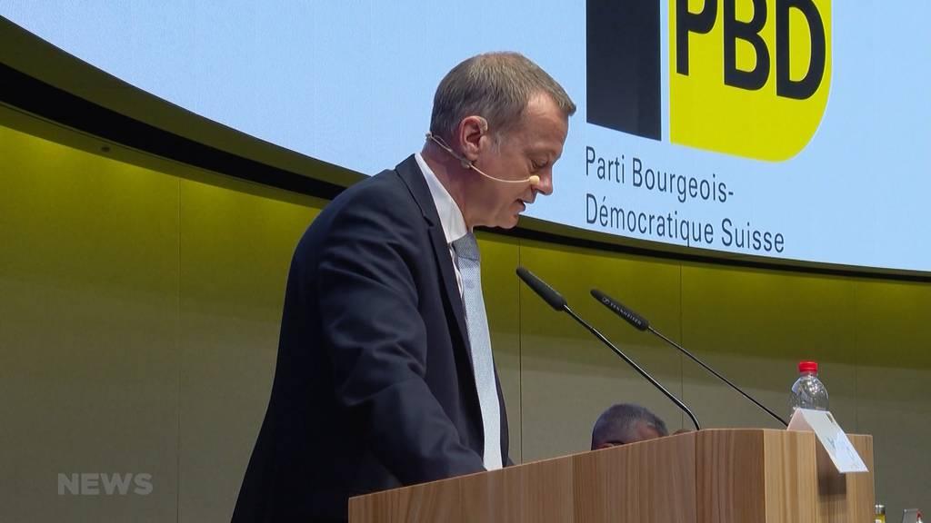 «Die Mitte»: BDP stimmt Fusion mit CVP zu