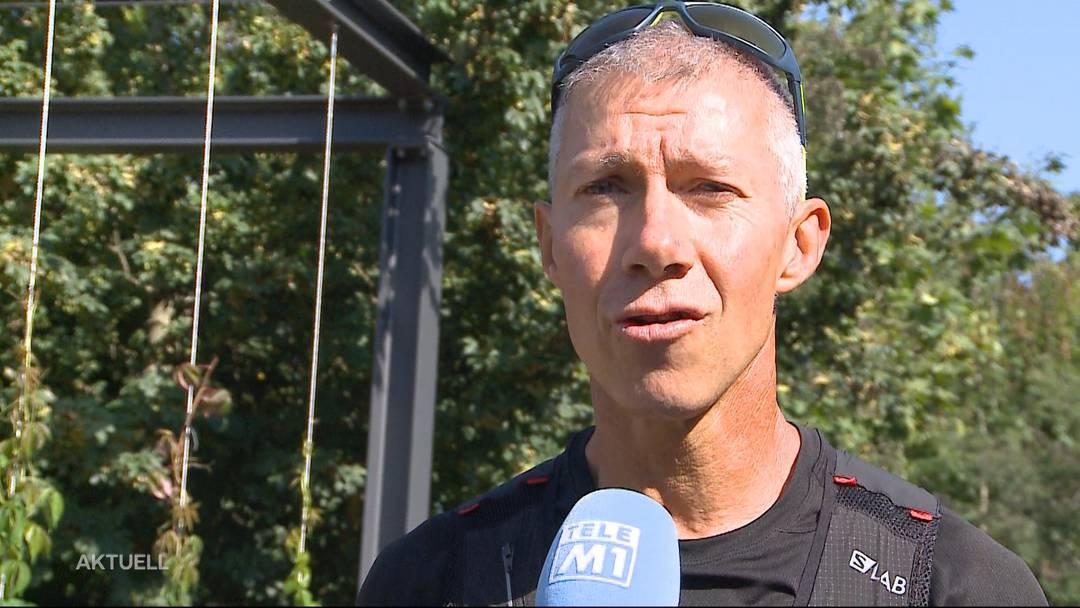 2'000 Kilometer in zwei Monaten: Fricktaler Jogger umrundete die Schweiz