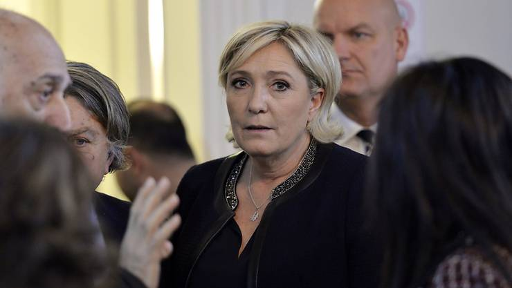 Front-National-Chefin Marine Le Pen (Archiv)