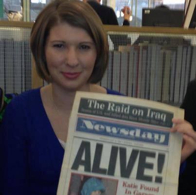 Katie Beers im Januar 2013, 20 Jahre nach ihrer Befreiung.