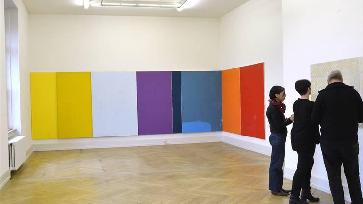 Die Ausstellung regionaler Kunsteinkäufe «Ernte» – hier 2015 im Palazzo Liestal» – soll es ab 2017 nicht mehr geben – denn der Kanton will auch keine Kunst mehr kaufen.