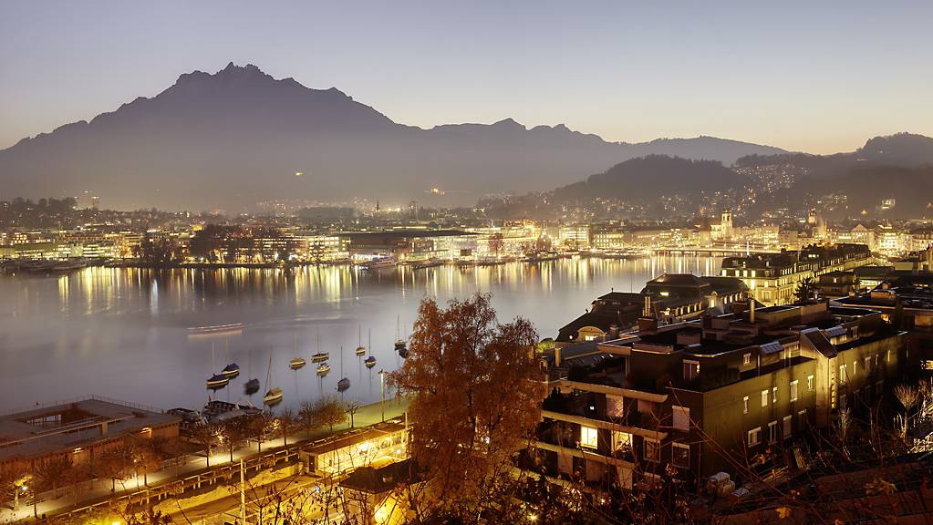 Luzern und die Zentralschweiz.