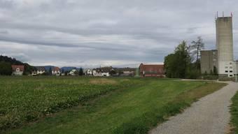 Die «Hegmatte» liegt zwischen Suhrentalstrasse und dem Dorfrand.