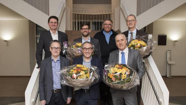 Noch ohne Präsidenten: Der neu gewählte Stadtrat von Dietikon.