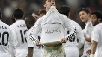 Cristiano Ronaldo gedenkte den Opfern nach den Unwettern auf Madeira