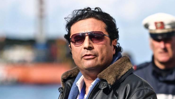 Nun ist es offiziell: «Costa Concordia»-Kapitän Francesco Schettino muss für 16 Jahre hinter Gitter. (Archivbild)