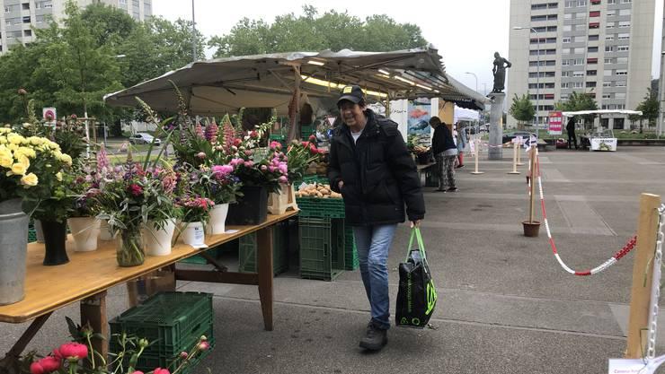 Wochenmarkt in Wettingen