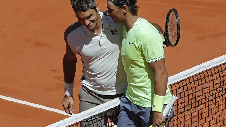 Roger Federer erreichte in diesem Jahr bei seinem Comeback in Roland Garros den Halbfinal, den er gegen Rafael Nadal verlor