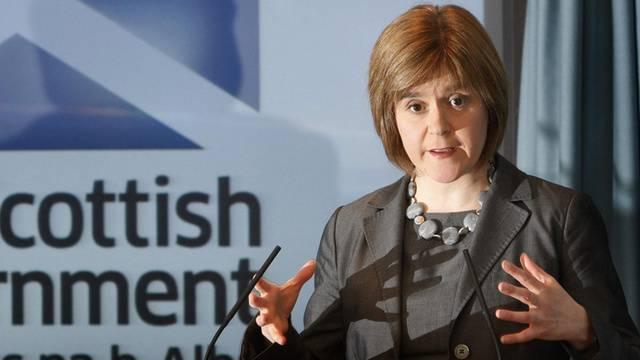 Die schottische Gesundheitsministerin Nicola Sturgeon (Archiv)