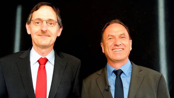 Die Neuen: Mario Fehr (SP) und Martin Graf (Grüne)