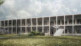 Das Siegerprojekt «École de Soleure» des Kollektivs Marudo