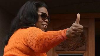 Oprah Winfrey hat allen Grund zufrieden zu sein