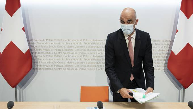 Gesundheitsminister Alain Berset.