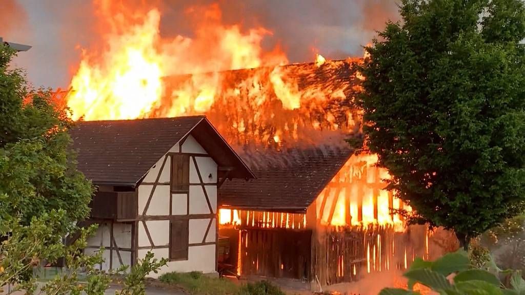 Brand in Schönbühl: Haben Jugendliche das Feuer gelegt?
