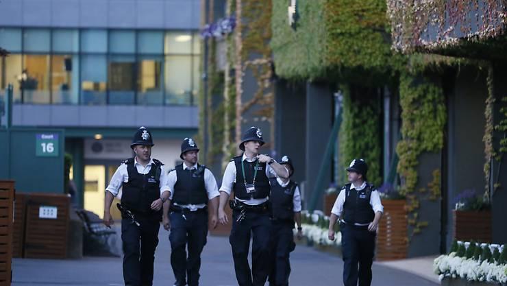 Auch die Polizei war im Einsatz