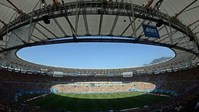 Im Maracanã-Stadion von Rio findet der WM-Final statt (Archiv)