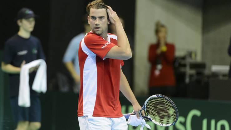 Der ehemalige Schweizer Profi-Tennisspieler Michael Lammer trainiert das Team, welches in Kazan Silber holte.