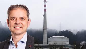 Philipp Hadorn, Co-Präsident des Vereins «Nie Wieder Atomkraftwerke» (NWA) Regionalgruppe Solothurn.
