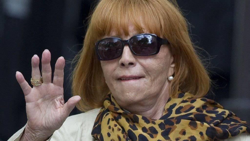 Die Schauspielerin Stéphane Audran, die zweite Frau von Regisseur Claude, 2010 bei einer Gedenkfeier für ihn. Heute Dienstag ist sie 85-jährig ebenfalls gestorben.