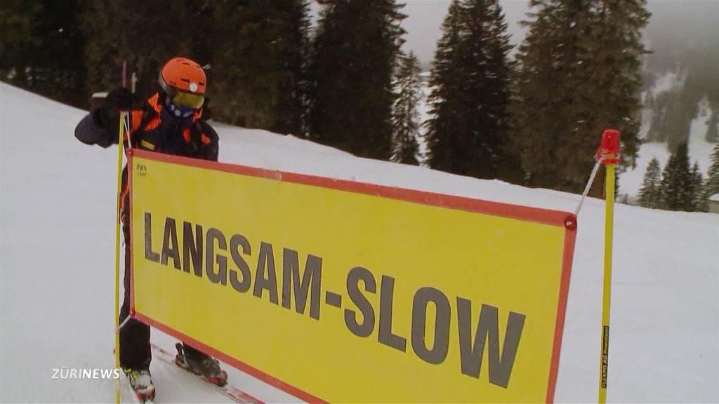 Rasen verboten: Skigebiete im Kanton Schwyz müssen Kampagne umsetzen
