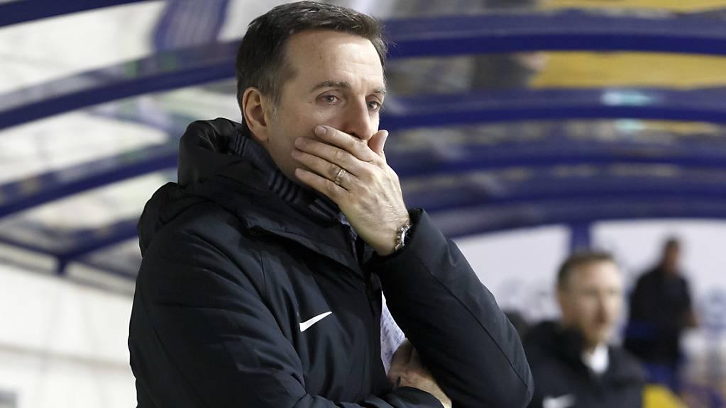 Keine einfache Aufgabe: Serge Pelletier muss Lugano zu alter Stabilität zurückführen