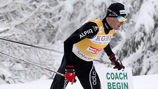 Wieder Zweiter: Dario Cologna