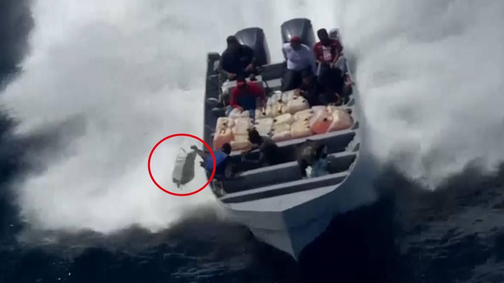 US-Küstenwache beschlagnahmt 1000 Kilo Kokain