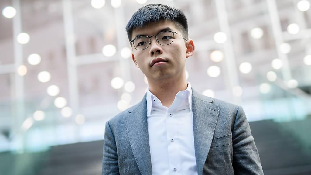 Hongkonger Protestführer Joshua Wong erklärt Rücktritt