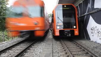 Der RBS verzeichnete 2016 über 26 Millionen Fahrgäste