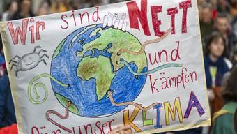Kampf für das Klima: Die Gemeinde Kölliken ruft den symbolischen Klimanotstand nicht aus. (Symbolbild)
