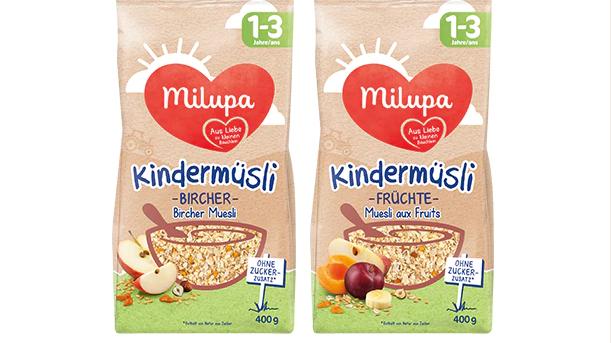 Apfelstiele im Kindermüsli: Milupa ruft zwei Produkte zurück