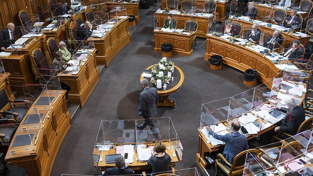 Ständerat nimmt Budgetdebatte auf