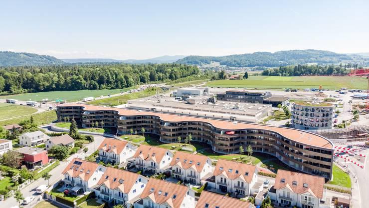 Wie schnell gehen die Wohnungen weg? Neu gebautes Mehrfamilienhaus