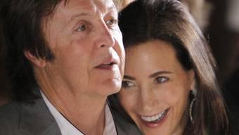 Paul McCartney und Nancy Shevell gehen bald aufs Standesamt