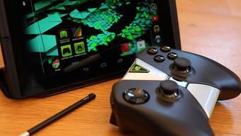 Gefährlicher Akku: Das Tablet von NVIDIA kann schlimmstenfalls in Brand geraten.