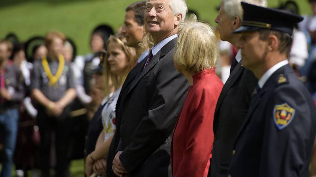 Fürst Hans-Adam II. von Liechtenstein feierte am Donnerstag seinen 74. Geburtstag (Archivbild).