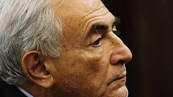 Strauss-Kahn bei der Anhörung vor Gericht