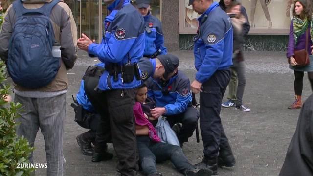 Schreckmoment in Lausanne