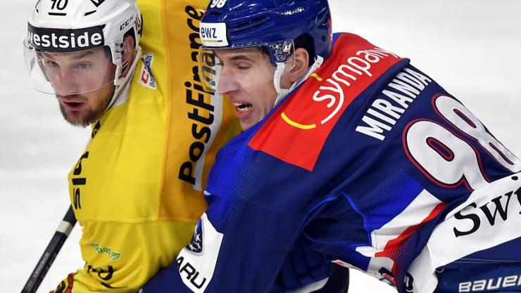 Marco Miranda (rechts) wechselt auf die kommende Saison hin zu Genève-Servette