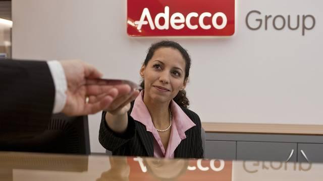 Adecco profitierte vom Wirtschaftaufschwung (Archiv)