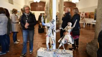 Gruppenausstellung in der Säulenhalle in Solothurn