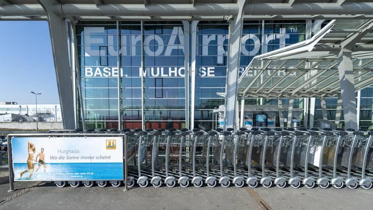 Am Euroairport in Basel könnte man die benötigte Infrastruktur für Schnelltests rasch bereitstellen.