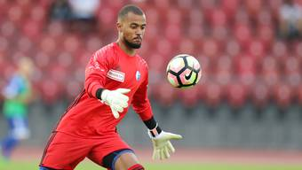 Gefangen im Vakuum: Joël Kiassumbua hält immer wieder gut – trotzdem geht sein FC Wohlen häufig als Verlierer vom Platz.