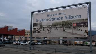 S-Bahn-Station Dietikon Silbern