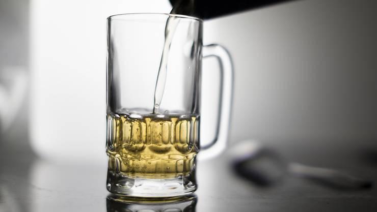 Der Durst auf deutsches Bier war im letzten Jahr weniger gross (Symbol).