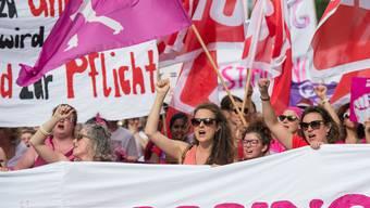 Frauenstreik in der Schweiz