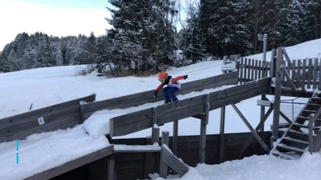 So herzig springt der Skispringer-Nachwuchs über Schanzen